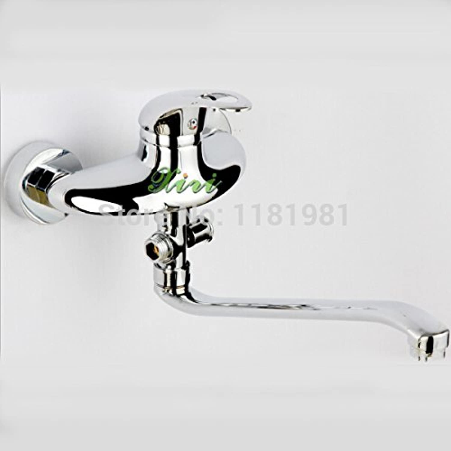 Retro Deluxe Faucetinging Bigger Cute Design Smoothy hot and Cold Mixer Waterfall Kitchen Faucet Z008-9A