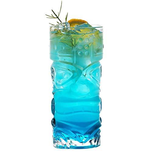400Ml Cocktail Glazen Tiki Cup Transparant Grimace Cup Loodvrije Big Eye Cup Hawaiian Juice Cup Bier Mok Zombie Cup Bar Gereedschap Transparant