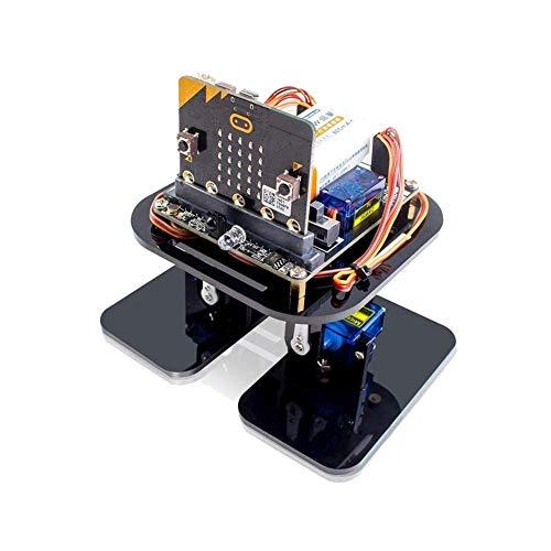 BINGFANG-W Robótica Aprendizaje Kit con Micro bit Desarrollo de Soporte de Placa App Programación y evitación de obstáculos for Trabajar la Madera Herramientas Tablero del Amplificador