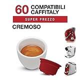 Caffitaly - Cápsulas compatibles de mezcla de café cremoso 60 CREMOSO
