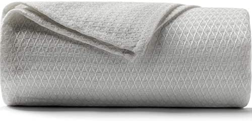 DANGTOP Twin Size Cooling Blankets 100 Bamboo Blanket for All Season Ultra Cool Lightweight product image