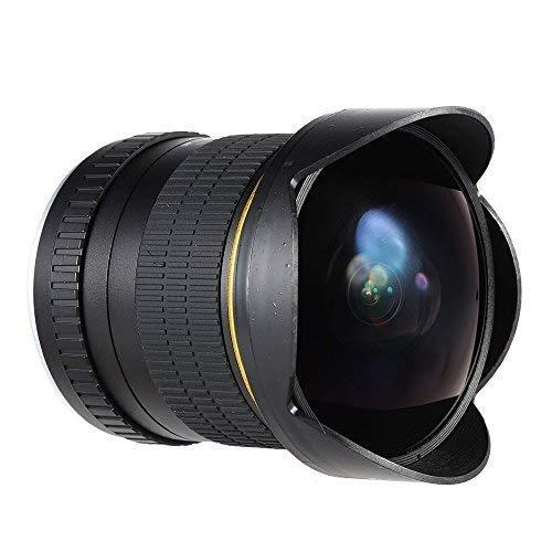 JINTU Lente macro gran angular F3.0 de 8 mm para cámaras réflex digitales Nikon D7100...