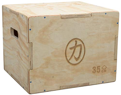 3 Heights - 20, 24 /& 30 FXR HEAVY DUTY WOOD Premium Wooden Plyo Plyometric Jump Box