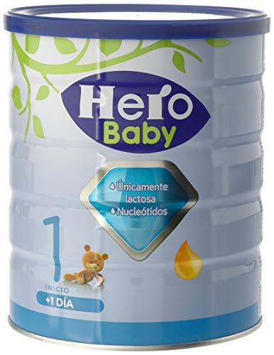 Hero Baby 1 - Leche de Inicio en Polvo para Bebés hasta los 6 Meses - 800g