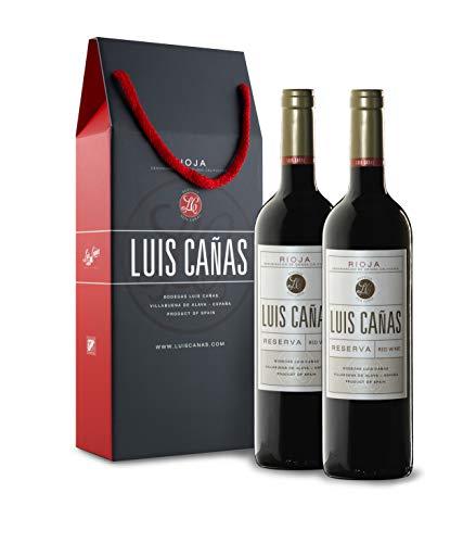 Luis Cañas Reserva Vino Tinto Estuche 2 Botellas - 750 ml