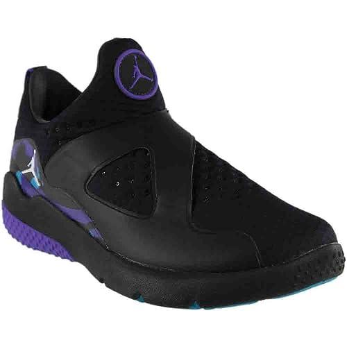 the best attitude 92cc8 0acdc Jordan Men s Trainer Essential Running Shoe Black White-Varsity Purple-Aquatone  10