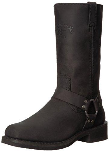 HARLEY-DAVIDSON FOOTWEAR Men's Bowden Motorcycle Boot, Black, 9 Medium US