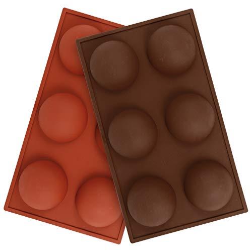 2 Stücke Bakeware Silikonform für Kuchen Dekoration Silikonform Backform Schokoladenform Kuchenform zur Gelee Pudding Süßigkeiten