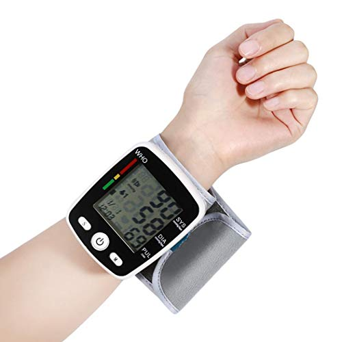 Fantastic Deal! Redpol Durable Automatic LCD Digital Display Wrist Blood Pressure Monitor Pulse Oxim...