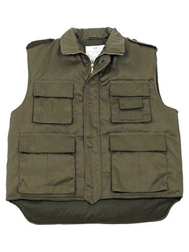 Militär a US Gilet Ranger Olive Grande Taille - Vert -