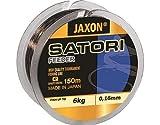 Jaxon Angelschnur Satori Feeder 150m / 0,16-0,35mm Spule Monofil Schnur (0,25mm / 13kg)