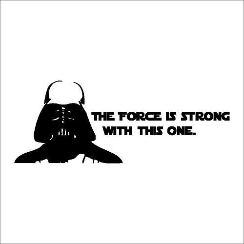 Stickers muraux Star Wars Fond de chambre d'enfants Chambre Sticker amovible étanche