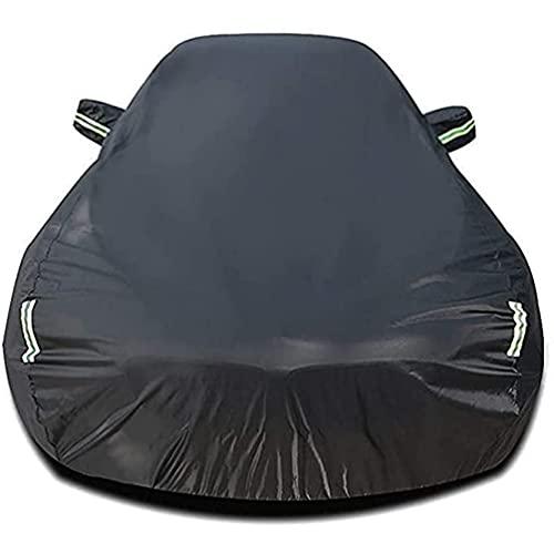 Autoplanen Garagen, für Opel Zafira Tourer C MPV 2011-2019 Wetterfest Autoabdeckung Vollgarage Sonnenschutz schneesicher UV-Schutz Winddicht, Auto Cover Styling Zubehör
