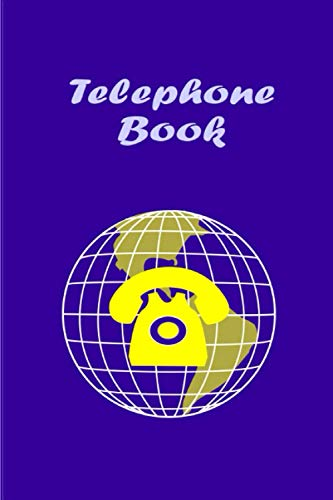 Telephone Book: Telephone & Address Book With Alphabetical Tabs From A to Z