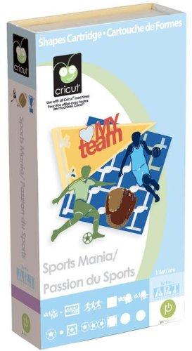 Cricut Shapes Cartridge Sports Mania By The Each