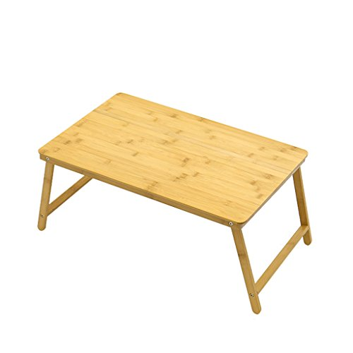 PHH Computer Desk Desk Mini Lazy Table Small Table Home Folding Bamboo Notebook Table