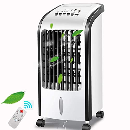 condizionatore d'aria, Air Cooler Aria condizionata portatile 3 velocità e venti 5L Big Water Serbatoio Intelligent Telecomando Home Mobile Piccolo Little Little Piccoli piccoli maniche piccole Fa