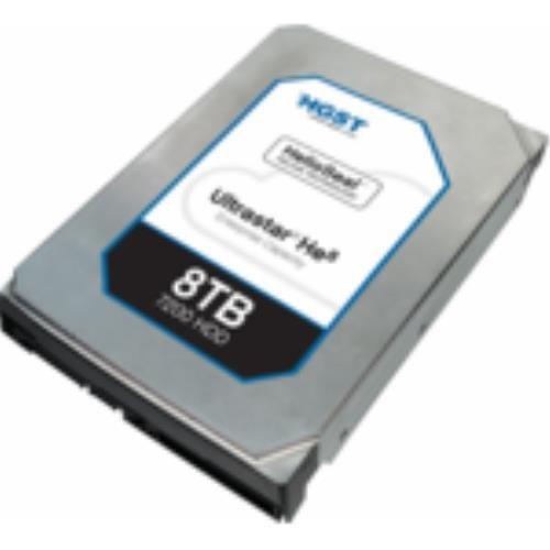 HGST Ultrastar HE8 8TB HDD 7200rpm SATA 6Gb/s 128MB Cache 24x7 Enhanced Availability 8,9cm 3,5Zoll HUH728080ALE600