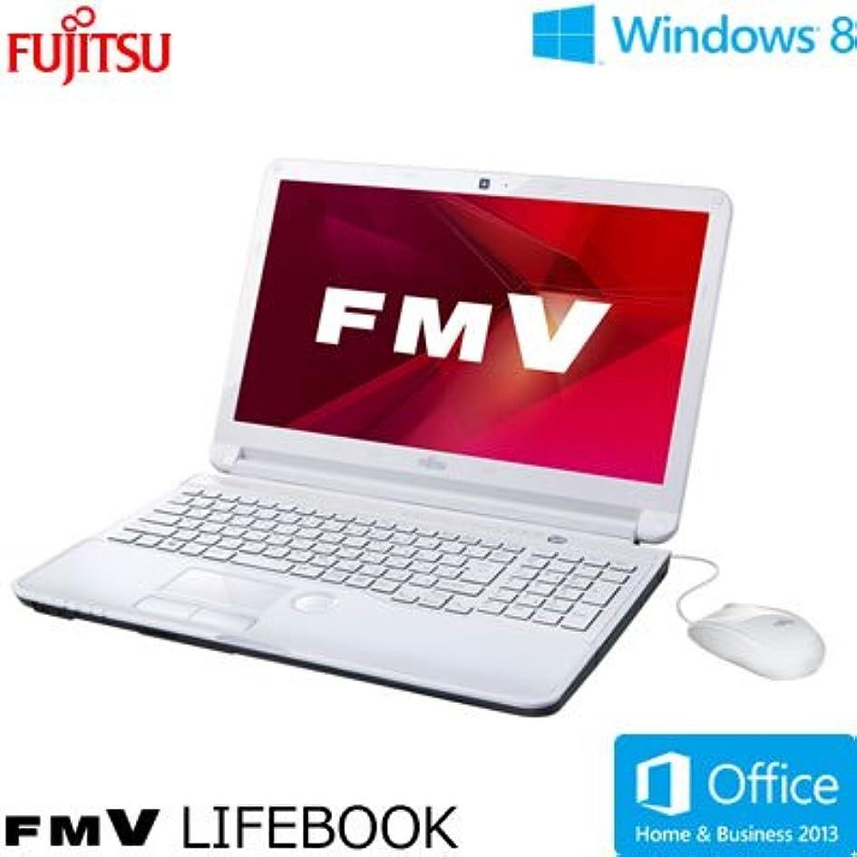 硬さピルファー出演者富士通 FMV AH53/K (Core i7/4G/750GB/15.6/Win8(64bit)/Office Home and Business搭載) アーバンホワイト FMVA53KWP