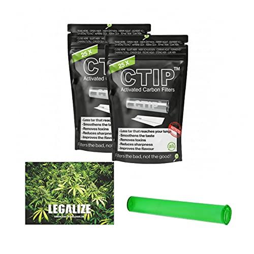 25-200 filtri a carboni attivi CTIP, con ø da 6-7 mm, in alluminio conico + tubo per joint e...