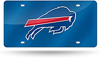 Rico Industries NFL Womens NFL Laser Inlaid Metal License Plate Tag