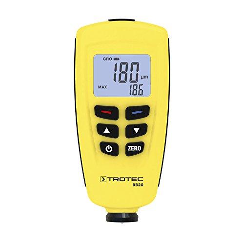 TROTEC BB20 Schichtdicken-Messgerät Lackdickenmessgerät Lackprüfer
