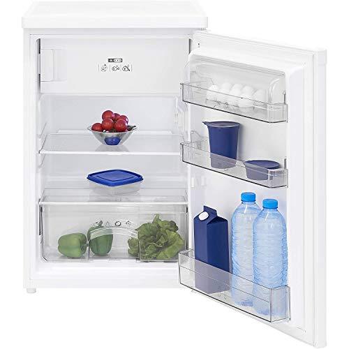 Exquisit KS 16-4.1 A+ Kühlschrank mit 4 Sterne Gefrierfach / 103 Liter Kühlen / 15 Liter Gefrieren/EEK: A+ / weiß