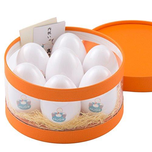 hug米(ハグ米) 内祝い 出産内祝い 名入れ お返し 減農薬コシヒカリ 二合(300g)X7袋 2.1kg オレンジ