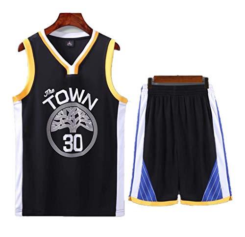 Sport Kinder- Und Jugendmannschaft NBA Trikotset - Bull Jordan # 23 / Lakers James # 23 / Warriors Curry # 30 / Basketball Trikot Besticktes Trikot Training Jungen Und Mädchen