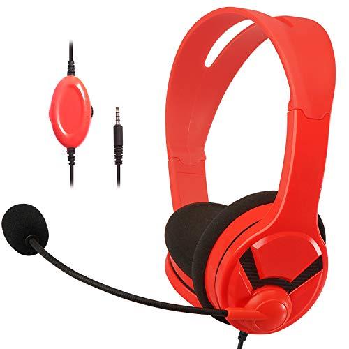AmazonBasics Gaming Headset - compatible with Nintendo Switch, Xbox One,...