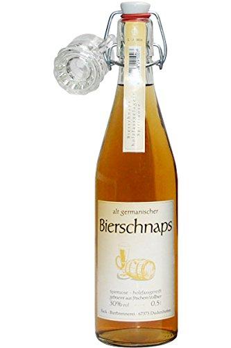 Back Alt Germanischer Bierschnaps Spirituose 0,5 L