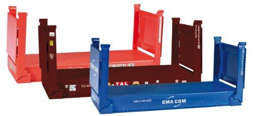 herpa 076579 - Zubehör: Flatcontainer, 20 fuß