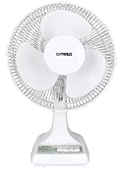 small Optimus F-1210 12 inch 3 speed desktop fan