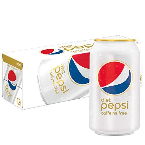 Pepsi, Diet Pepsi, Caffeine Free, 12 oz (pack of 12)