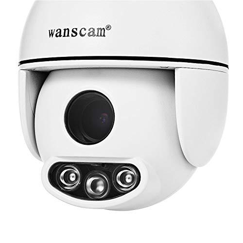 ETbotu WANSCAM HW0054 al aire libre WiFi HD cámara IP ir visión nocturna 1080 p 2MP cámara de audio bidireccional enchufe Reino Unido