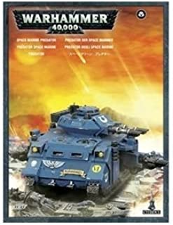 Space Marines Predator Tank Box Warhammer 40K by Games Workshop