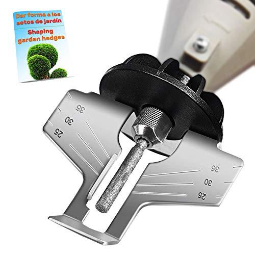 Kettensägen schärfgerät zubehörkopf für schlagbohrmaschine mini multifunktionswerkzeug Kit kettensäge schärfen Zahnschärfer Kettensägenschärfer Kettensägeschärfgerät sägeketten chainsaw sharpener