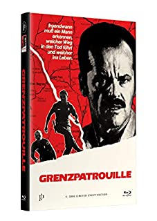 GRENZPATROUILLE (The Border) - Hartbox (gross) Cover A [Blu-ray] Limited 33 Edition - Uncut