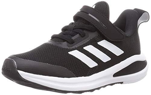 adidas Unisex-Kinder FortaRun EL K Sneaker, Negbás/Negbás/Ftwbla, 28 EU
