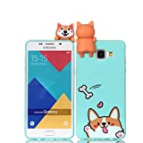 LAXIN Cartoon TPU Case for Samsung Galaxy A5 (2016) / A510,Soft 3D Silicone Case,Cute Smiling Dog...