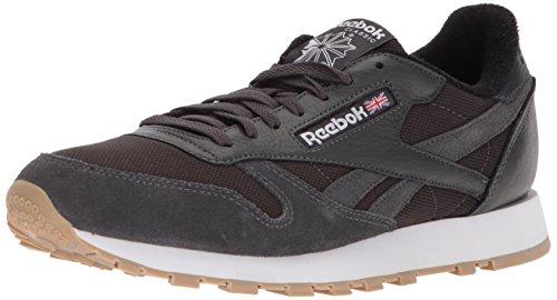 Reebok Cl Leather Estl, Zapatillas Deportivas. Hombre, Coal White Washed Blue, 46 EU
