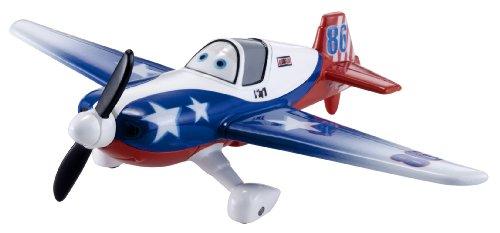 Disney - Planes Y1902 Modellino di Aeroplano - Dusty 86 LJH Speciale