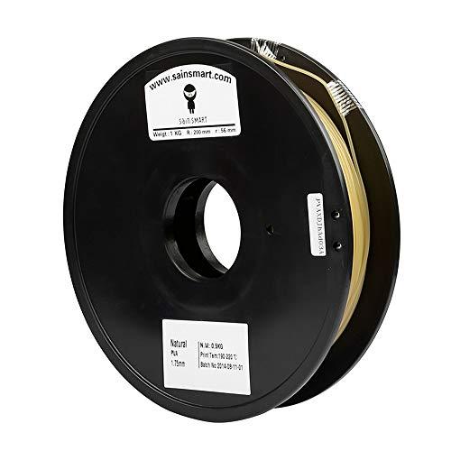 SainSmart 1.75mm PVA Dissolvable 3D Printers Filament -0.5kg/1.1lbs (Natural)