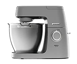 DISCOVER BETTER BAKING: The Kenwood Chef Elite XL mixer has a 1400 W motor with 6.7 Litre bowl, increased power for heavier dough and batch baking, designed for baking, whisking, kneading and mixing NON-STICK BAKING: A full set of non-stick baking to...