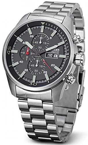 Duward aquastar hockenheim Reloj para Hombre Analógico de Automático japonés con Brazalete de Acero Inoxidable D95518.03