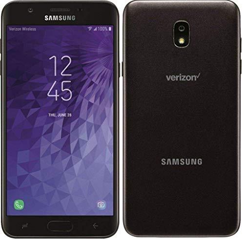 "Samsung Galaxy J7 2018 (16GB) 5.5"" HD Display, Android 8.0, Octa-core, Verizon Locked 4G LTE Smartphone SM-J737V (Black) (Renewed)"