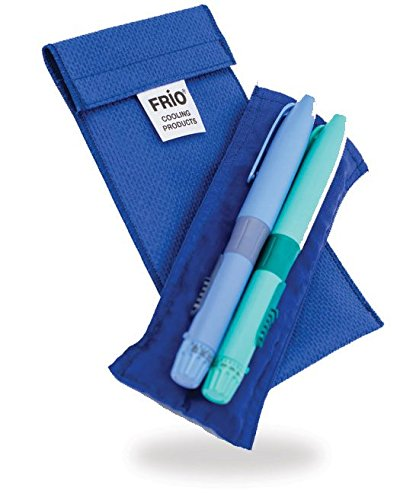 FRIO Insulin Cooling Wallet (Duo, Blue)