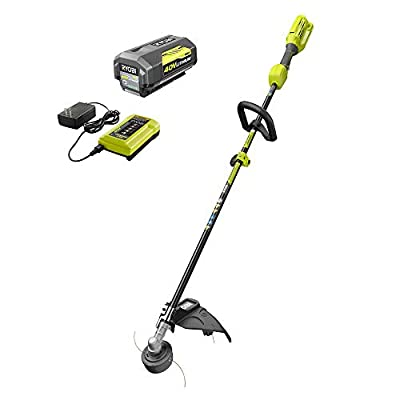 RYOBI 40-Volt Lithium-Ion Cordless Attachment Capable String Trimmer with 4.0 Ah Battery and Charger Included (Open Box)