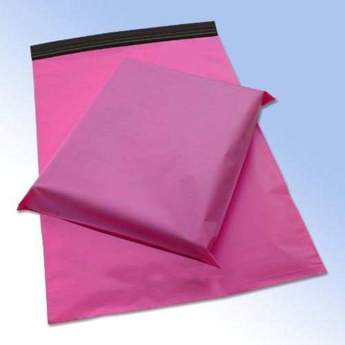 All-Pack Solutions CMBP0250- Buste per spedizioni postali, Rosa, 40 x 25 cm, Confezione da 50