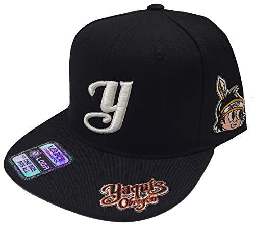 Yaquis de obregon 3 Logos hat Black Snapback